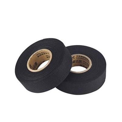 ALSKY プレミアム ビニールテープ ブラック,結束テープ (耐熱・耐候素材特殊ポリオレフィン採用) 19mmX25m