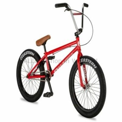 "BMX New 2019 Eastern 20 ""BMX Traildigger自転車フリースタイルバイク3ピースクランクレッド"