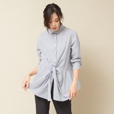 カリテ(qualite)/フロントツイストシャツ
