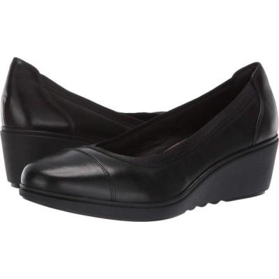 クラークス Clarks レディース ヒール シューズ・靴 Un Tallara Liz Black Leather