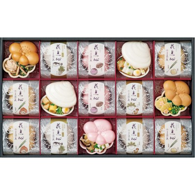【お中元】<京洛 辻が花>京野菜のお吸物最中詰合せ MS-50R かまぼこ・米飯・惣菜
