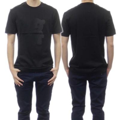 EMPORIO ARMANI エンポリオアルマーニ メンズクルーネックTシャツ 3K1TAL 1JTUZ ブラック /2021春夏新作