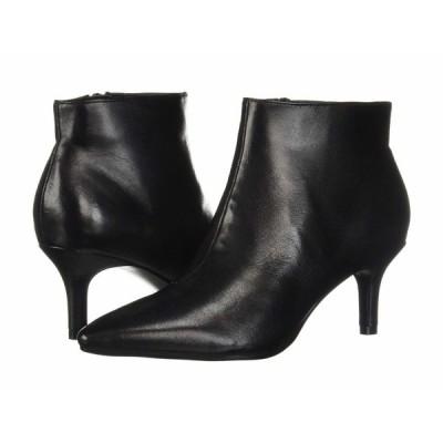 エアロソールズ ヒール シューズ レディース Epigram Black Leather