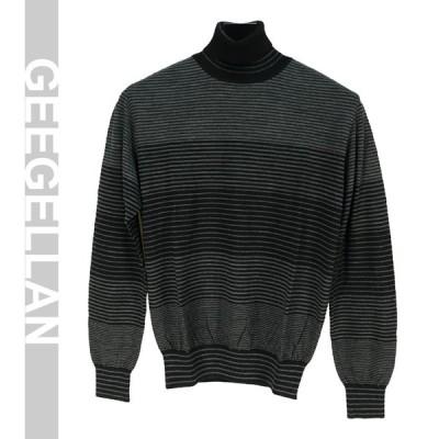 ★秋冬特価★タートルネックセーター  グレー(M) GEEGELLAN 5712