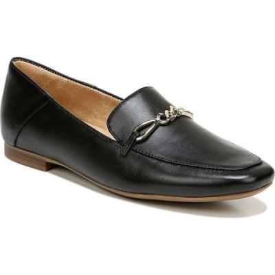 ナチュラライザー Naturalizer レディース スリッポン・フラット シューズ・靴 Kayden Slip-ons Black Leather