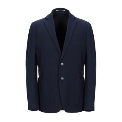 EXIBIT テーラードジャケット ダークブルー 48 レーヨン 70% / ナイロン 25% / ポリウレタン 5% テーラードジャケット