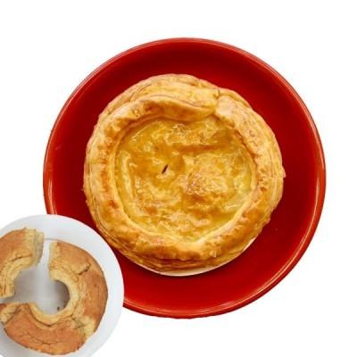 並盛り アップルパイ 直径 12cm 4号 サイズ 紅茶シフォンケーキ