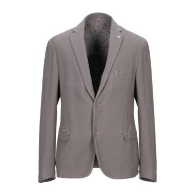 BARBATI テーラードジャケット ドーブグレー 54 コットン 100% テーラードジャケット