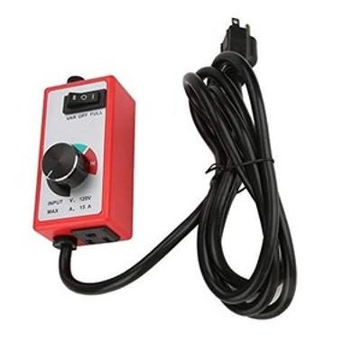 120vルータースピードコントローラーファン可変速度コントローラーガバナー電気モーターレオスタット赤信号発生器ドライバーモジュール