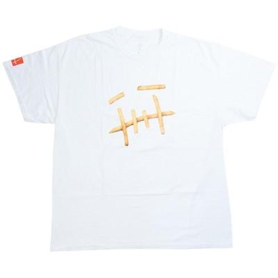 トラヴィス・スコット Travis Scott ×McDonald's マクドナルド FRY T-SHIRT Tシャツ 白 Size【XL】 【新古品・未使用品】