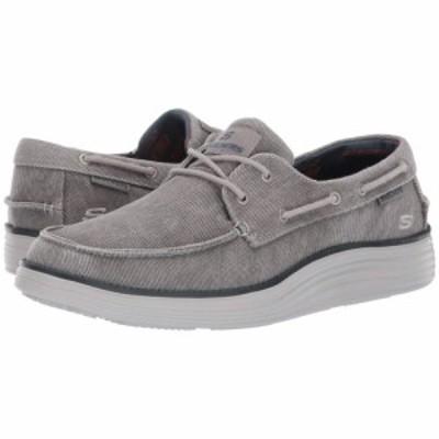 スケッチャーズ SKECHERS メンズ デッキシューズ シューズ・靴 Status 2.0 - Lorano Light Grey