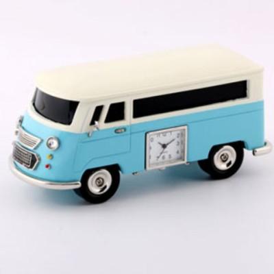 【SALE】ミニチュアクロック Miniature Clock Collection Bluetooth Speaker ミニバン ブルー BT3159-LBL 【返品種別B】