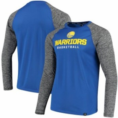 Fanatics Branded ファナティクス ブランド スポーツ用品  Fanatics Branded Golden State Warriors Royal/Heathered Gray Static Long S