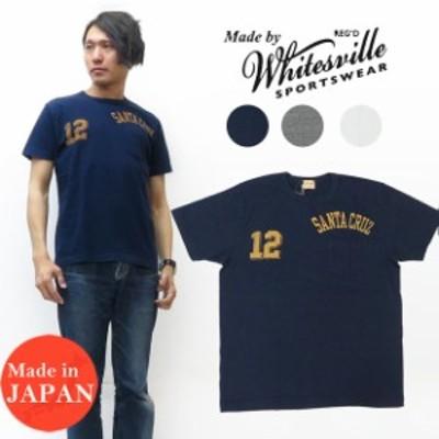 WHITES VILLE ホワイツビル 半袖 ポケット プリント Tシャツ WV78191