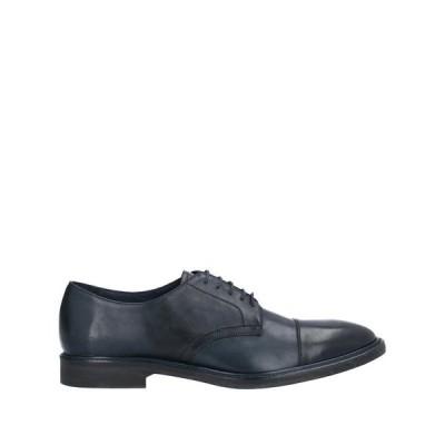 PS PAUL SMITH レースアップシューズ  メンズファッション  メンズシューズ、紳士靴  その他メンズシューズ、紳士靴 ダークブルー