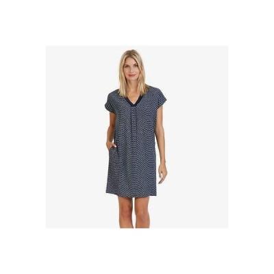 ドレス ノーティカ Nautica レディース Abstract パターン Shirt ドレス