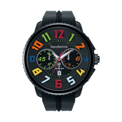 テンデンス 時計 日本限定モデル レインボー TY460610 クオーツ腕時計
