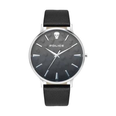 ポリス PL.16023JS/02 POLICE スカル メンズ ウォッチ 腕時計