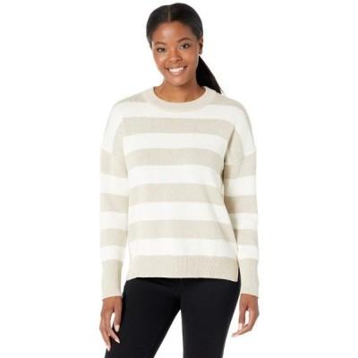 レディース スウェット Open-Knit Crew Sweater