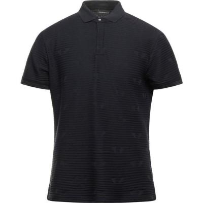 アルマーニ EMPORIO ARMANI メンズ ポロシャツ トップス polo shirt Dark blue