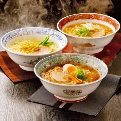 喜多方ラーメン 詰め合わせ 3種 12食 セット ラーメン 生麺 醤油味 味噌味 塩味 平打ち 太麺 食べ比べ