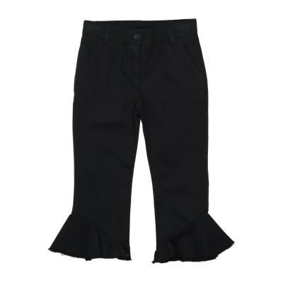 DOUUOD パンツ ブラック 4 コットン 97% / ポリウレタン 3% パンツ