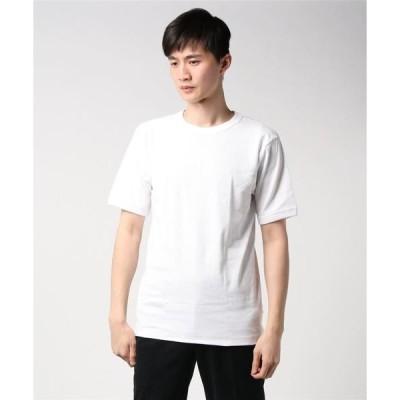 tシャツ Tシャツ 【HANES/ヘインズ】BEEFY RIB T HM1−R103 ビーフィー Tシャツ 無地 ユニセックス 袖リブ