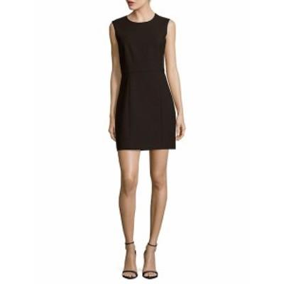 エリザベスアンドジェームス レディース ワンピース Solid Back-Cutout Sleeveless Dress