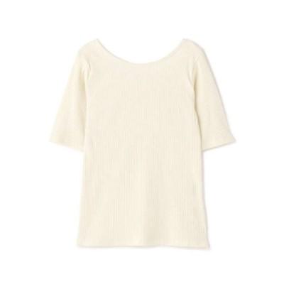 N.(N. Natural Beauty Basic) / バレエネックリブTシャツ WOMEN トップス > Tシャツ/カットソー