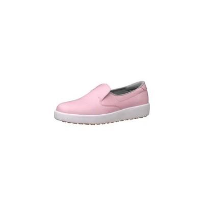 ミドリ安全 ハイグリップ作業靴 H-700N 23.5cm ピンク SKT4320