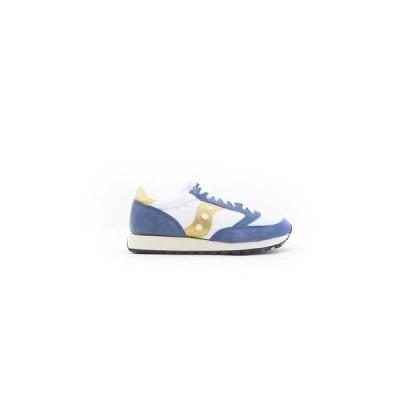 スニーカー メンズ サッカニー Saucony Men Jazz Original Vintage white blue gold 70368-12