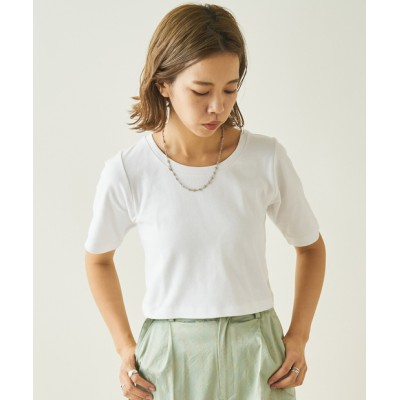 outlet/ストレッチチビTEE