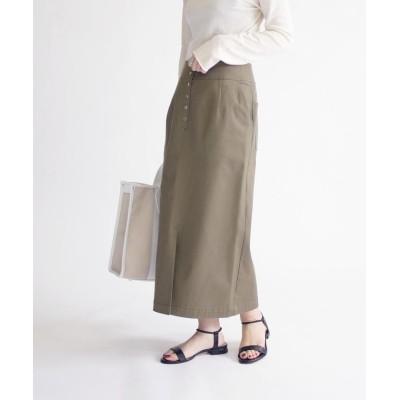 (SHIPS WOMEN/シップス ウィメン)カージータイトスカート◇/レディース オリーブ