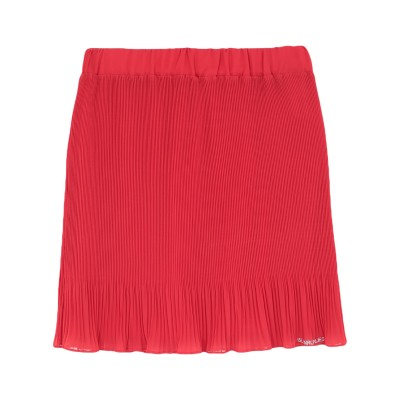 ブルーガール ブルマリン BLUGIRL BLUMARINE ミニスカート レッド 40 ポリエステル 100% ミニスカート