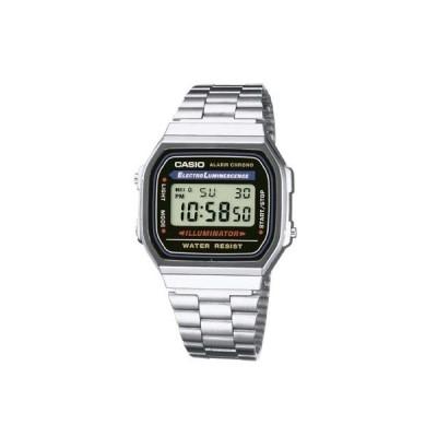 腕時計 カシオ レディース Casio A168WA-1 Mens Classic Digital Bracelet Watch