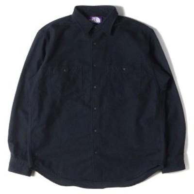 THE NORTH FACE ノースフェイス シャツ カリフォルニアシャツ オーバーサイズ ネルシャツ California Shirt 17AW ネイビー M 【メンズ】