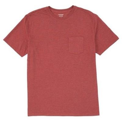 ラウンドトゥリーアンドヨーク レディース シャツ トップス Soft Washed Short-Sleeve Solid Pocket Crew