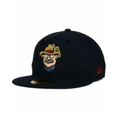 ニューエラ メンズ 帽子 アクセサリー Frisco RoughRiders 59FIFTY Fitted Cap Navy