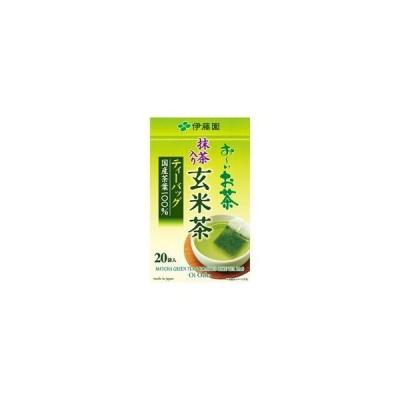 (まとめ) 伊藤園 お〜いお茶 ティーバッグ 玄米茶 〔×5セット〕