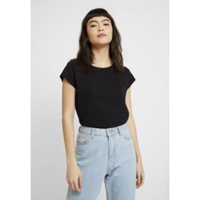 マッズ ノーガード レディース Tシャツ トップス ORGANIC FAVORITE TEASY - Print T-shirt - black black