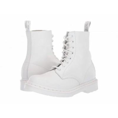 Dr. Martens ドクターマーチン レディース 女性用 シューズ 靴 ブーツ ワークブーツ 1460 Pascal Mono White【送料無料】