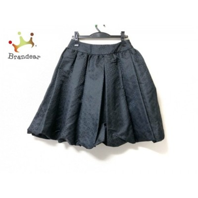 ケイタマルヤマ KEITA MARUYAMA スカート サイズ1 S レディース 黒   スペシャル特価 20200601