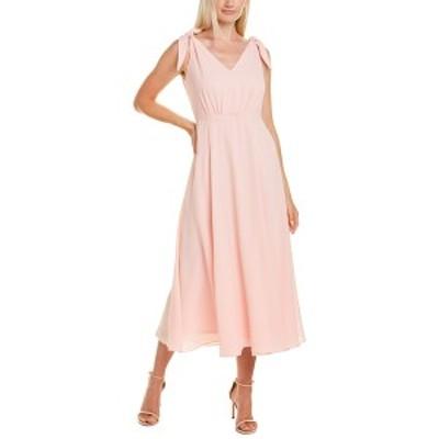 ベッツィジョンソン レディース ワンピース トップス Betsey Johnson Pebble Midi Dress party girl pink