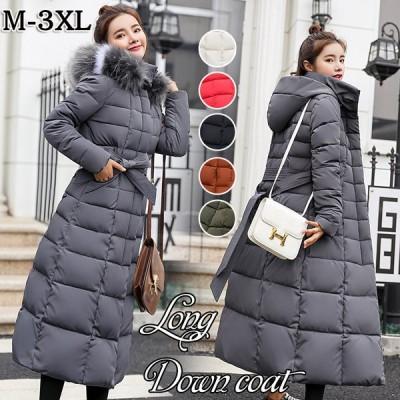 ダウンコート レディース ロング おしゃれ 人気 高級 フード付き 40代 50代 30代 セール おすすめ 暖かい 安い もこもこ  韓国 きれいめ 暖かさ 冬