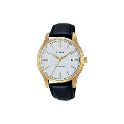 おしゃれ 個性的 高品質 腕時計 ローラス LORUS 40MM LEATHER CASE QUARTZ ANALOG RS966BX9