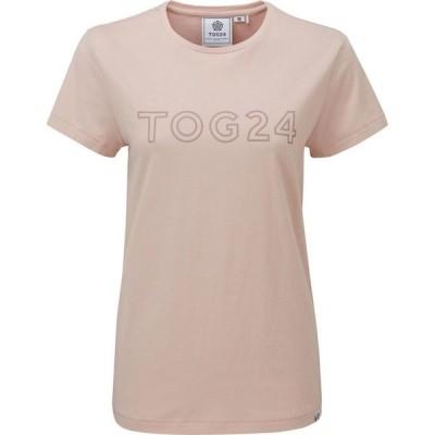 トッグ24 Tog 24 レディース Tシャツ トップス Milnrow tog print tshirt Rose Pink