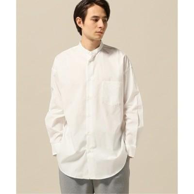 シャツ ブラウス 100/2ブロードビッグバンドカラーシャツ