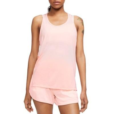 ナイキ シャツ トップス レディース Nike Women's Yoga Layer Tank Top WashedCoral