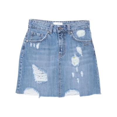 ベルナ BERNA デニムスカート ブルー XS コットン 100% デニムスカート