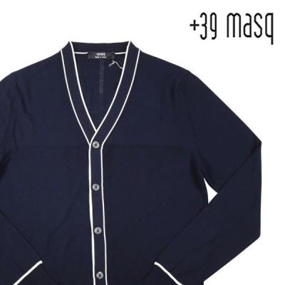 +39 masq(マスク) カーディガン MASQ2102 ネイビー S 19685 【S19685】